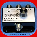 3 Position COAX Antenna SWITCH 1000 W - CB / Ham Radio - Workman CX3, Model: , Electronics & Accessories Store