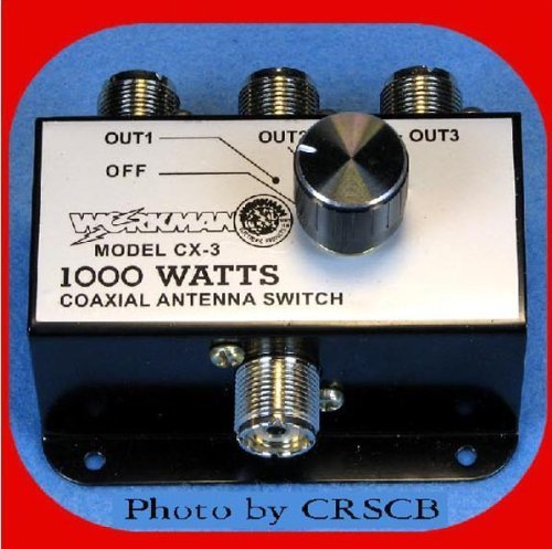 3 Position COAX Antenna SWITCH 1000 W - CB / Ham Radio - Workman CX3, Model: , Electronics & Accessories Store by Gadgets World