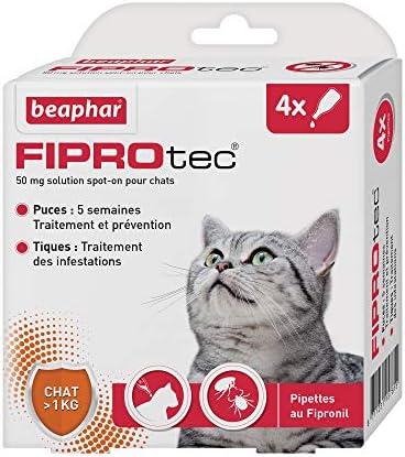 BEAPHAR - FIPROTEC 50 mg - Solution spot-on au