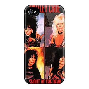 Defender Case For Iphone 4/4s, Motley Crue Pattern