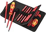 Wera 05059030001'Kraftform Kompakt' 60i+iS/62i/65i/67i Changeable Blade - Silver (17-Piece)