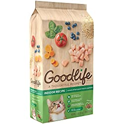 GOODLIFE Adult Indoor Chicken Recipe Dry Cat Food 7 Pounds (Discontinued by Manufacturer)