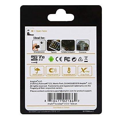 Amplim V30 A1 100MB//s 667X MicroSDXC Memory Card Pack 128 GB Class 10 U3 UHS I XC Cell Phone 128GB Micro SD Card Plus Adapter MicroSD Card 128G SDXC TF Card Drone GoPro Hero 7 Camera