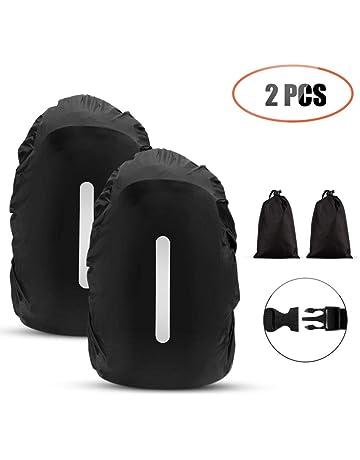 AGPTEK 2-Pack Nylon Waterproof Backpack Rain Cover with 1 Storage Bag for  Hiking  880b1b67e2d1e