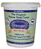 Stewart Pro-Treat Lamb Liver Freeze Dried Dog Treats, 3-Ounce