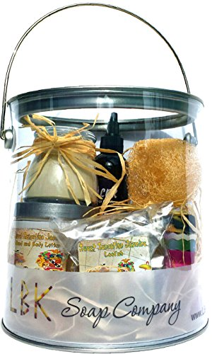 Jasmine Hand Polish (Jasmine Sweet Sensations Spa Basket Gift By LBK Soap Company)