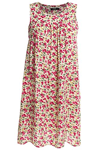 Dress House Womens Sleeveless - POGT Dress for Hot Summer Days Sleeveless House Dress Plus size (XXL, 1)