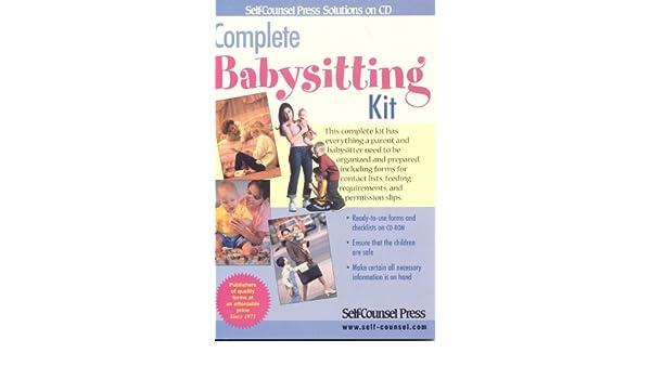 overnight babysitter checklist
