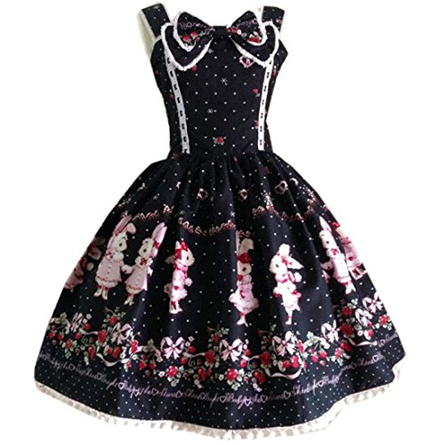 kawaii black dress - 7