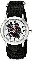 Marvel Comics Kid's W002237 Ant-Man Analog Display Quartz Black Watch