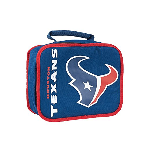 The Northwest Company Officially Licensed NFL Houston Texans Sacked Lunch Cooler