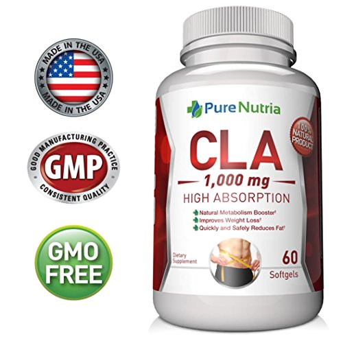 Best CLA 1000mg CLA Supplement Superior Fat Burner and Weight Loss Pills for Women - Conjugated Linoleic Acid Softgels - Build Lean Muscle and Burn Belly Fat Fast