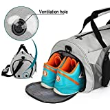 Fitness Sports Large Capacity Waterproof Gym & Travel Duffel Bag for Men and Women with Shoe Compartment and Wet Pocket
