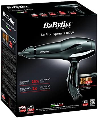 BaByliss Paris 6614E Sèche cheveux Pro Express 2300
