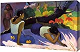 """This 15"""" x 23"""" premium gallery wrapped canvas print of Arearea No Varua Ino by Paul Gauguin is meticulously created on artist grade canvas utilizing ultra-precision print technology and fade-resistant archival inks. This magnificent canvas print is g..."""