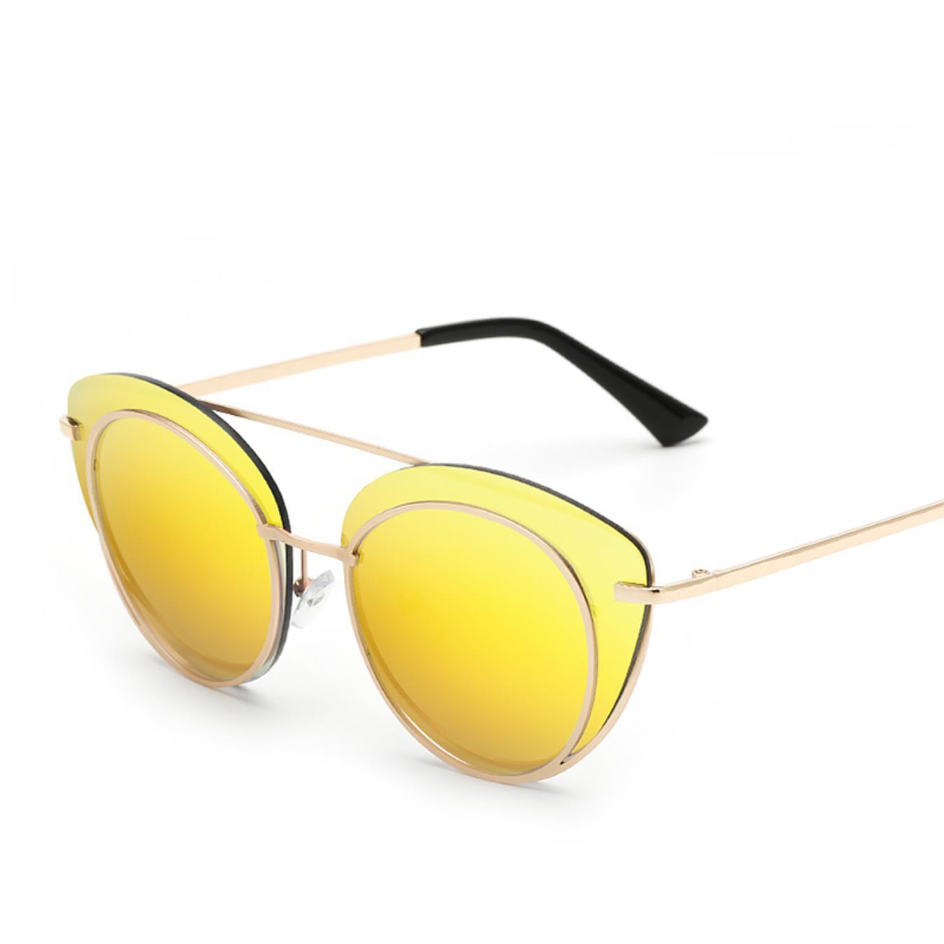 840864c5be943 Women Anti-Reflective Sunglasses Fashion Retro Metal Frame Glasses Uv 400  Wholesale Sunglases at Amazon Men s Clothing store