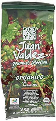 Juan Valdez 100% Organic Coffee, 10-Ounce