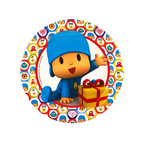 BirthdayExpress Pocoyo Party Supplies Dessert Plates for