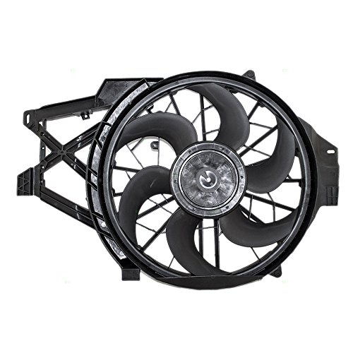 Cooling Fan Replacement for Ford F8ZZ8C607BA AutoAndArt