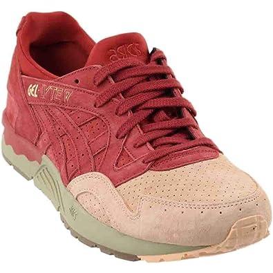 pretty nice e7c4f e758c ASICS Mens Gel-Lyte V Athletic   Sneakers Red
