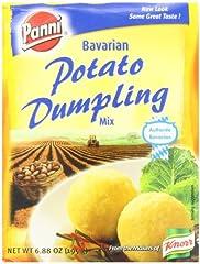 Panni Bavarian Potato Dumpling Mix, 6.88 Ounce -- 12 per case. Bavarian-style potato dumplings with a smooth texture. 6.88 Ounce