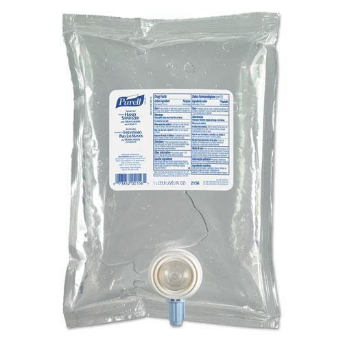 PURELL Advanced Instant Hand Sanitizer NXT Refill, 1000mL, 8/Carton