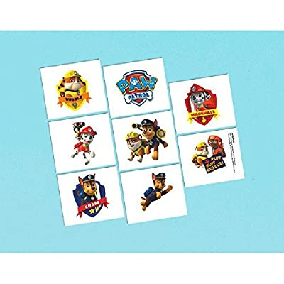 Paw Patrol Tattoos, Party Favor: Toys & Games