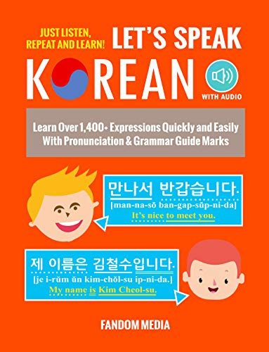 Over 1,400 Expressions with Korean audio tracks!