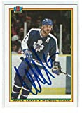 Best Rookie Cards - Wendel Clark Signed 1990/91 Bowman Card #159 Review