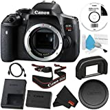 6Ave Canon EOS Rebel T6i DSLR Camera (Body Only) 0591C001 Standard Bundle - International Version (No Warranty)
