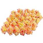Topixdeals-Silk-Cream-Pink-Roses-Flower-Head-Artificial-Flowers-Heads-for-Wedding-Flowers-Accessories-Make-Bridal-Hair-Clips-Headbands-Dress