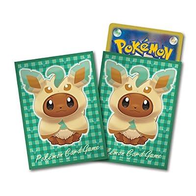 Pokémon: 64 Protèges Cartes format STANDARD Evoli Poncho Phyllali