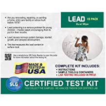 Lead Test Kit in Dust Wipes 10PK (5 Bus. Days) Schneider Labs
