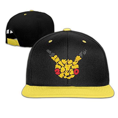 MayDay Unisex Children Baseball Cap Flexfit Cap Yellow