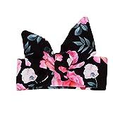 3PCS Outfit Short Set Toddler Girls Floral Vest