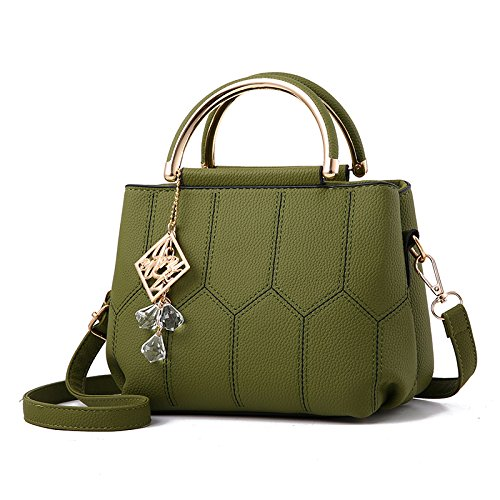 PU Armygreen à Main Womens BAILIANG Crossbody Mini Personnalité Bandoulière Fashion à Sac Sac qSwZnn15xf