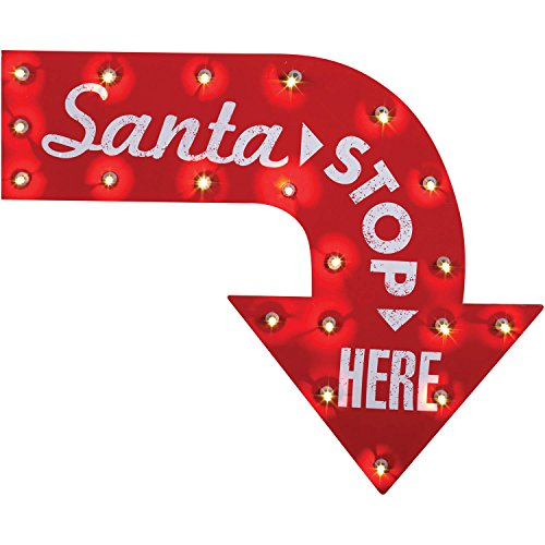 Stop Sign Costume (Santa Stop Here Sign)