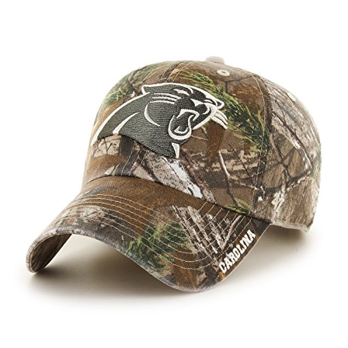 - '47 NFL Carolina Panthers Realtree Ice Clean Up Adjustable Hat, One Size, Realtree Camo