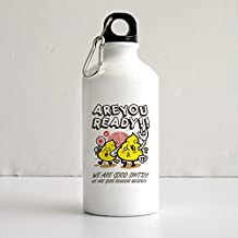 Xiayule Are You Ready 400ml Aluminum Sports Water Bottle