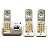 AT&T EL52313 DECT 6.0 Phone Answering System with Caller ID/Call Waiting, 3 Cordless Handsets, Silver (Certified Refurbished)