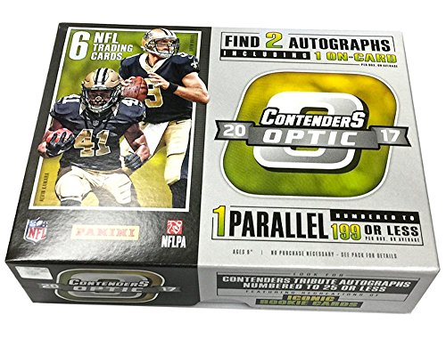 2017 Panini Contenders Optic NFL Football HOBBY box (6 cards)
