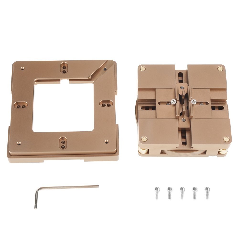 HT-90 X 80/90mm Universal BGA Reballing Station Auto Magnet Solder Stencil Rework Kit for Auto Fixing and Reball Chips