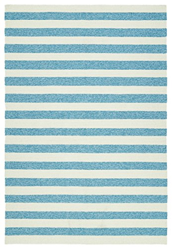 Kaleen Rugs Escape Indoor/Outdoor Rug, Blue, 4' x 6', used for sale  Delivered anywhere in USA