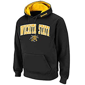 Mens NCAA Wichita State Shockers Pull-over Hoodie (Team Color) - 3XL