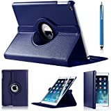 iPro Products Rotating 360 Degree PU Leather Case Cover For iPad 2/3/4 (Not Compatible ipad Model For ipad Mini,Ipad Air,Ipad Air 2,Ipad Pro,)
