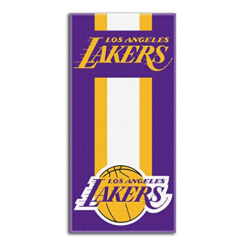 Northwest NBA Los Angeles Lakers Beach Towel, 30 X 60 Inches