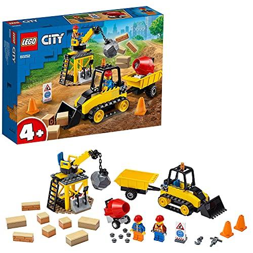 LEGO City Great Vehicles Construction Bulldozer 60252 Building Set
