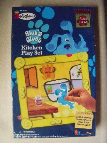 Blue's Clues Colorforms Kitchen Play Set [1998] by Colorforms