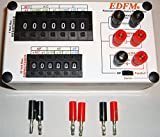 EDFM RESISTANCE/CAPACITANCE DECADE BOX With RC NETWORK