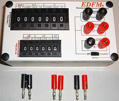 EDFM RESISTANCE/CAPACITANCE DECADE BOX With RC NETWORK ()